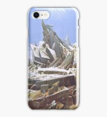 The Sea of Ice or The Wreck of Hope by Caspar David Friedrich iPhone Case/Skin