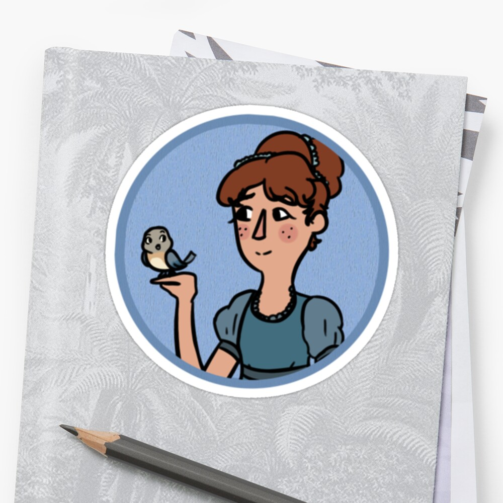 Over The Garden Wall Beatrice Stickers By Andysabii Redbubble