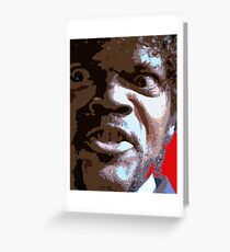 Samuel l Jackson - Jules Winnfield Greeting Card