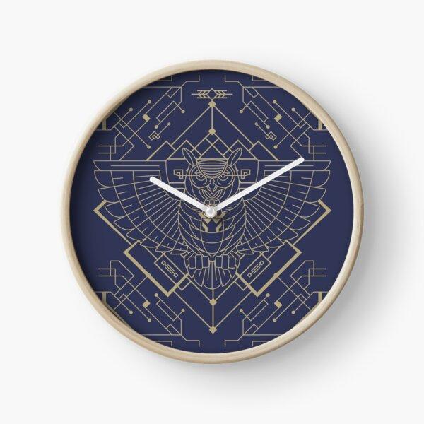 Tech Owl Clock