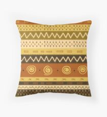 Ethnic Pattern 103 Throw Pillow