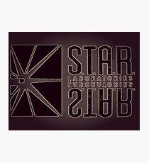 Star Lab Design Photographic Print