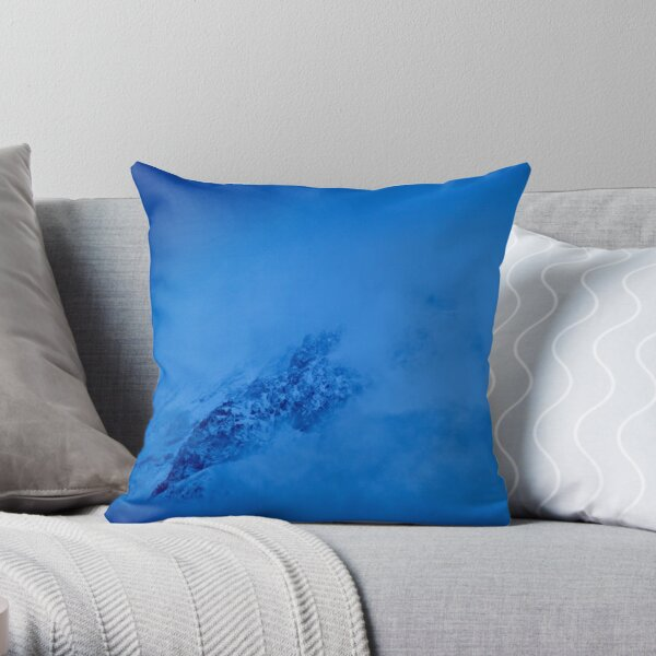 Mkinvari mountain Throw Pillow
