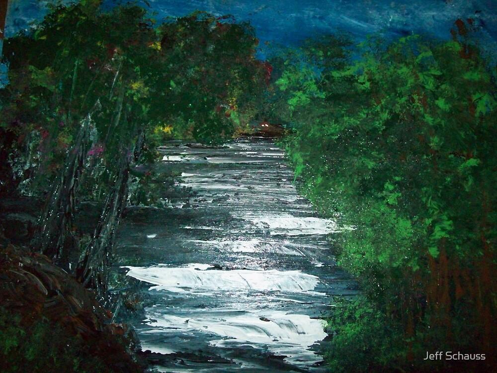 A Summer's Eve By The Creek by Jeff Schauss