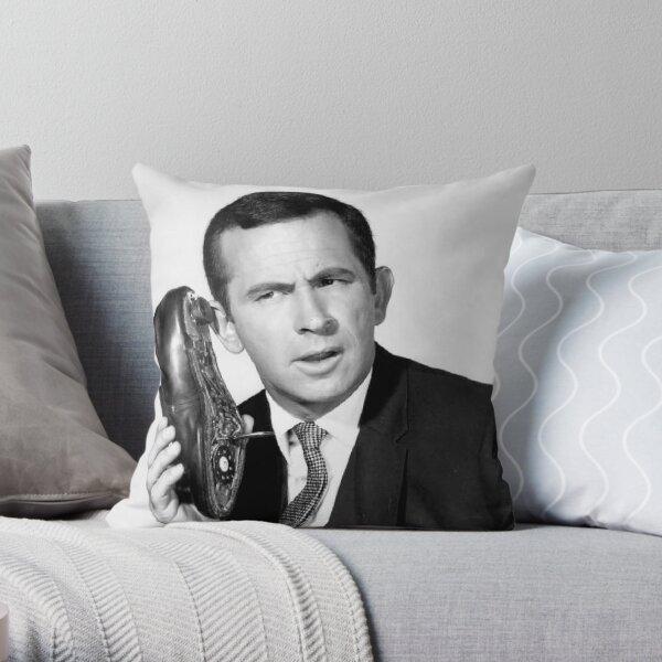 Get Smart Throw Pillow