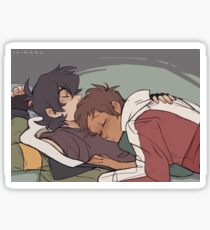 Napping Sticker