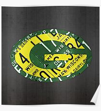 Green Bay Packers Print Poster