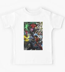 Superheroes of Colour by Zack  Kids Tee