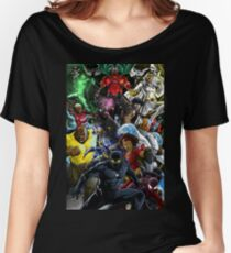 Superheroes of Colour by Zack  Women's Relaxed Fit T-Shirt