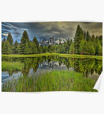 Schwabacher Reflection Poster