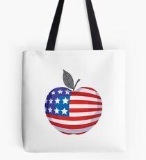 USA BIG APPLE Tote Bag
