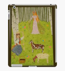 The Wood Maiden iPad Case/Skin