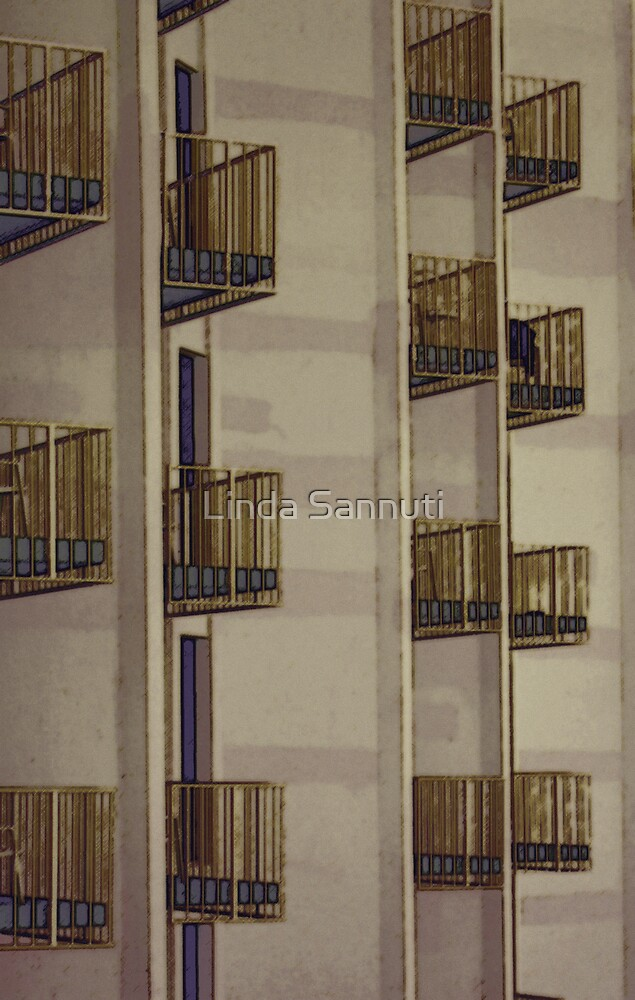 balcony by Linda Sannuti