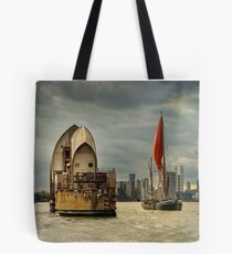 Icons of the Thames London Tote Bag