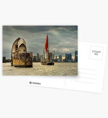 Icons of the Thames London Postcards