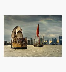 Icons of the Thames London Photographic Print