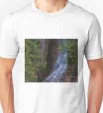 Summer Waterfall In North Cascades T-Shirt