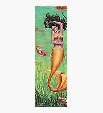 Koi Mermaid Art Koi Fish Siren of the Sea Photographic Print