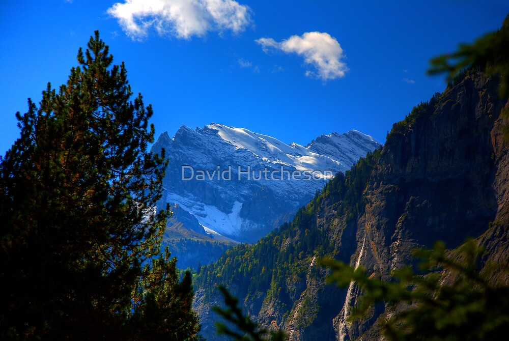 Alpine View 13 by David Hutcheson
