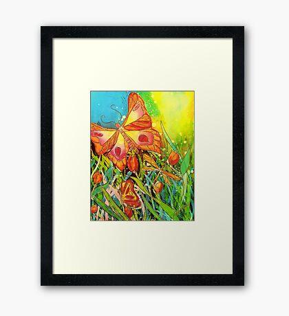 Butterfly Fantasy Framed Print