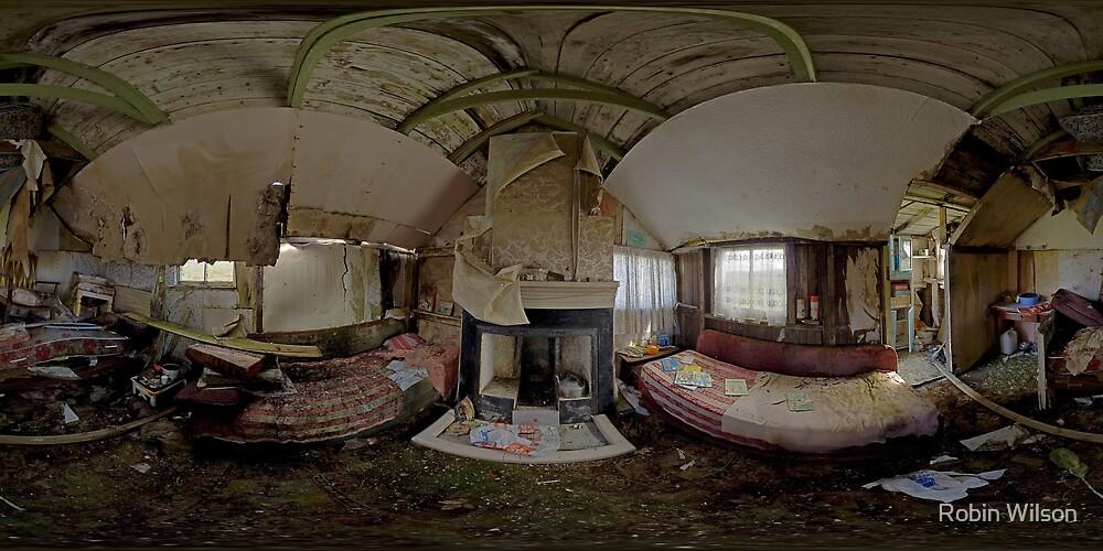 Shieling Interior by Robin Wilson