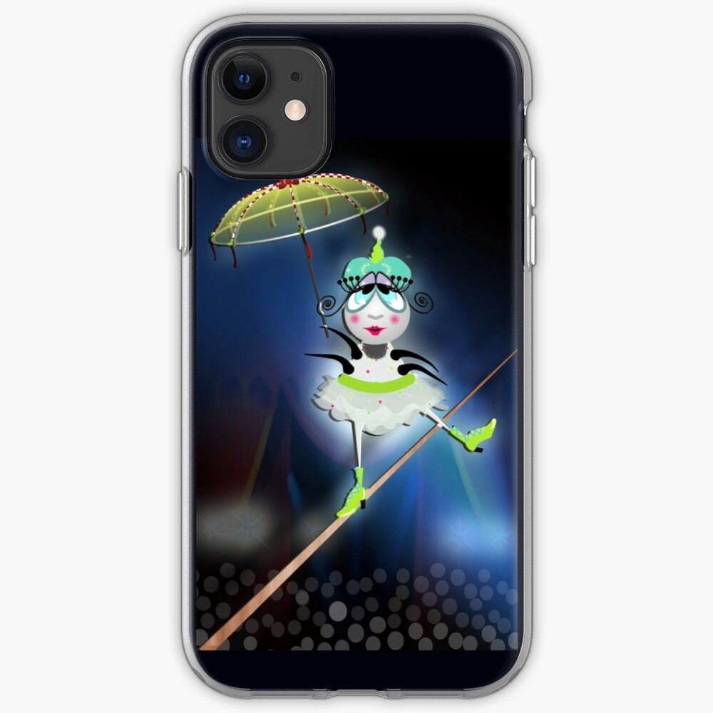 The Flea Circus - The Tightrope Walker Flea iPhone Case & Cover