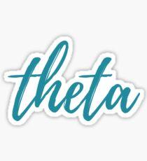 Greek Alphabet  Sticker