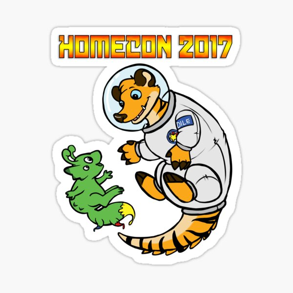 HomeCon 2017 - Sci-fi (with words) Sticker