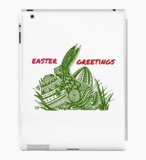 Easter Bunny Easter Greetings iPad Case/Skin