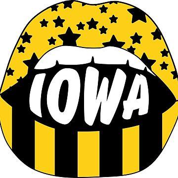 Iowa Lips by stickybad