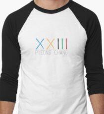 Winter Olympics Men's Baseball ¾ T-Shirt