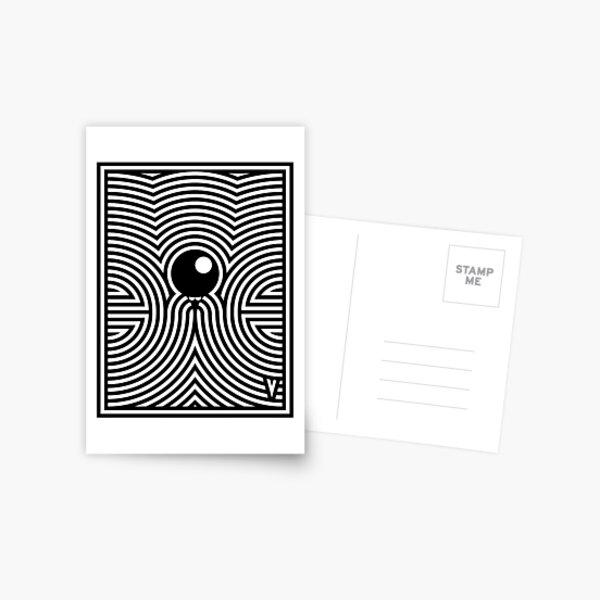 Octopustripes Carte postale