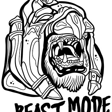 BEAST MODE by paoloravera