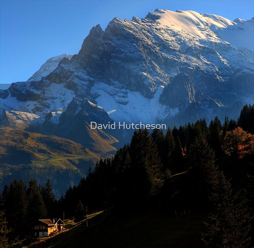 Alpine View 3 - Murren by David Hutcheson