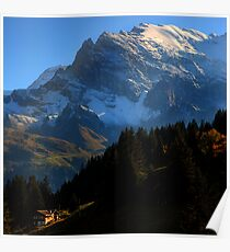Alpine View 3 - Murren Poster