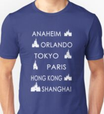 My Cities - Colored T-Shirt