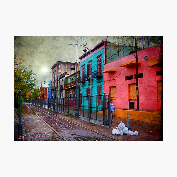 La Boca Photographic Print