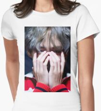 Kim Taehyung Women's Fitted T-Shirt