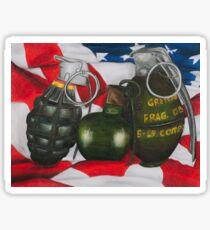 grenades  Sticker