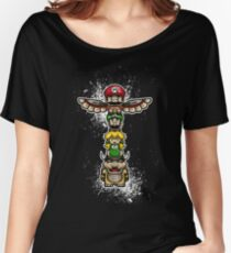 Super Totem - Bad Stacks Good Women's Relaxed Fit T-Shirt