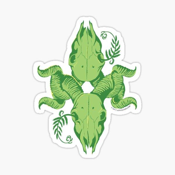 Verde Muerte Sticker