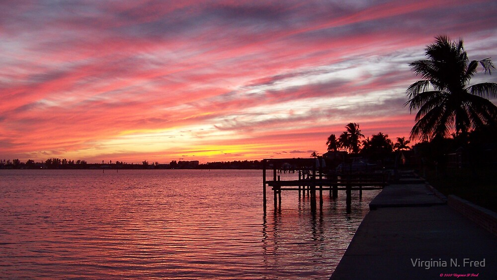 Florida Sunset by Virginia N. Fred