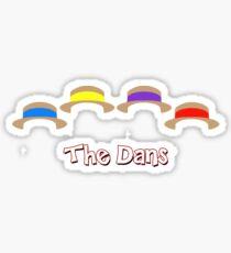 The Dans Sticker