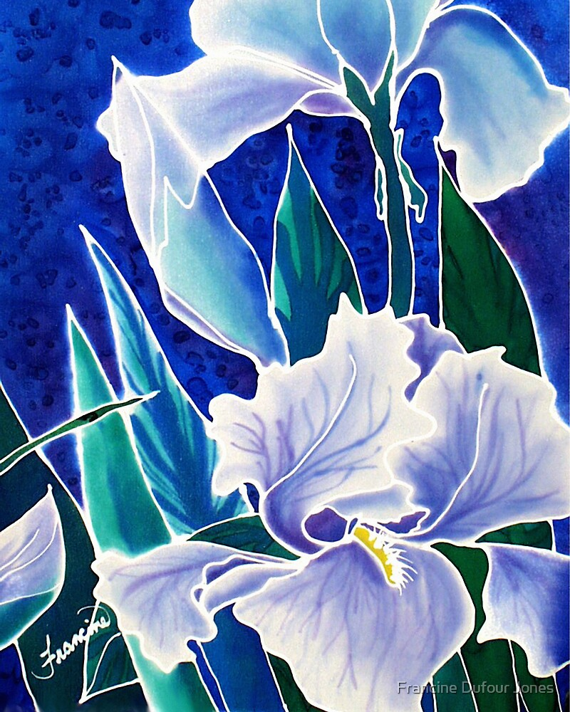 Silk Iris by Francine Dufour Jones