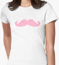 Markiplier Pink mustashe Women's Fitted T-Shirt