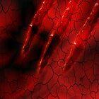 Red Ghoulish Claw iPhone & iPad by patjila
