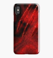 Red Ghoulish Claw iPhone & iPad iPhone Case/Skin