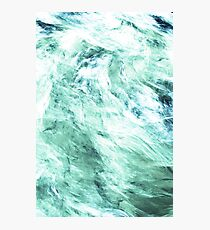 Green waters Photographic Print