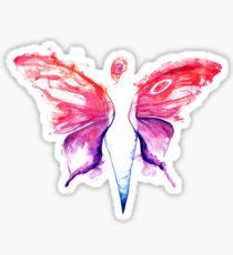 Butterfly woman Sticker