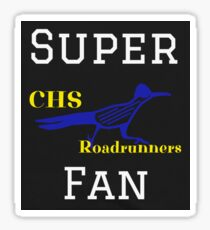 CHS Super Fan Sticker